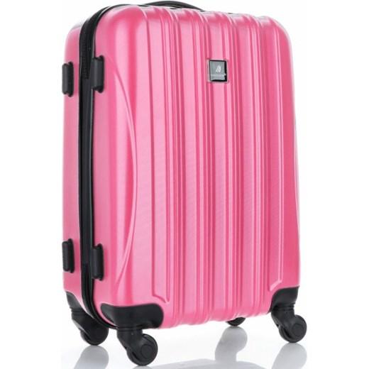 4c22d74f46c19 ... okazja PaniTorbalska; Solidna Walizka z Kuferkiem renomowanej firmy  Madisson Różowa (kolory) Madisson wyprzedaż PaniTorbalska