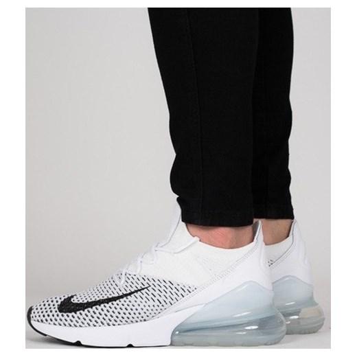 kupować nowe oryginalne buty wyprzedaż w sklepie wyprzedażowym Buty damskie sneakersy Nike Air Max 270 Flyknit AH6803 100 - BIAŁY  sneakerstudio.pl