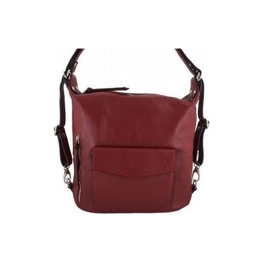 f462f9b9fc01a Czerwony plecak skórzany Barberini`s Wojtowicz Awangarda Shoes ...