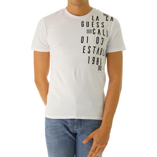 b9d8e11da10b3 ... krótkim rękawem młodzieżowy  T-shirt męski Guess młodzieżowy z napisem  zimowy ...