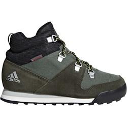 85eb8d12ec726 Buty trekkingowe dziecięce Adidas zielone