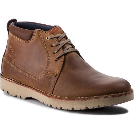 ab839862715bb0 Clarks buty zimowe męskie sznurowane skórzane casual w Domodi