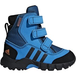 baa39f5889d62c Buty zimowe dziecięce Adidas niebieskie na rzepy