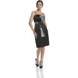 3b74fe229e Gorsety wizytowe - zobacz wybrane produkty · Dress FSU221 BLACK PALE GREY -  zdjęcie produktu