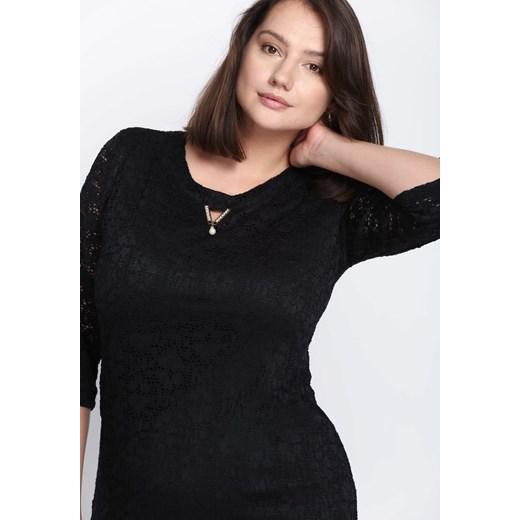 2c4253e2f2 Sukienka Born2be z długimi rękawami  Sukienka Born2be czarna ...