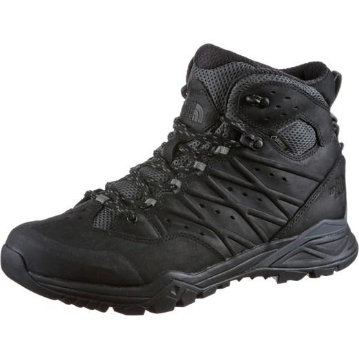 3ba2636e Buty trekkingowe męskie czarne The North Face wiązane na jesień z zamszu  sportowe ...