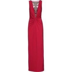 14906401f7 Sukienka Bodyflirt Boutique na karnawał na bal z dekoltem w literę v bez  wzorów maxi