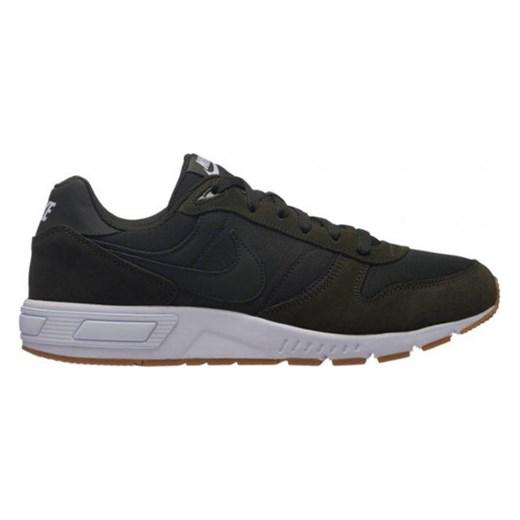 Buty sportowe męskie Nike nightgazer ze skóry ekologicznej wiązane