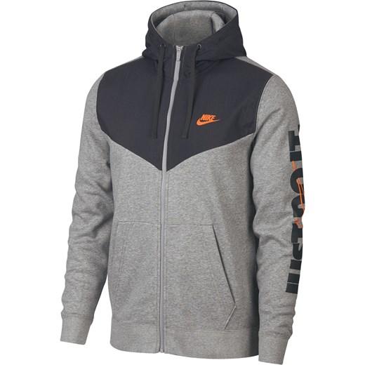 najlepszy najlepszy design ceny odprawy Nike bluza sportowa szara z polaru