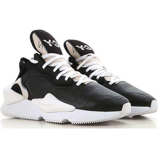 b70d7218c09eb Adidas Trampki dla Mężczyzn, Y3 Yohji Yamamoto, Czarny, Skóra, 2019, 39.5  ...