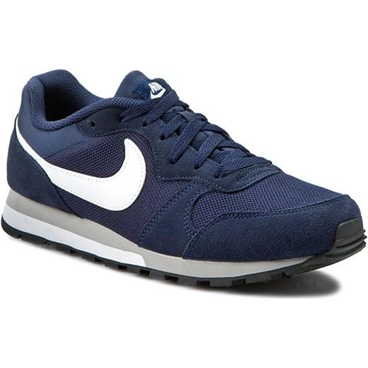 Buty sportowe męskie Nike zamszowe na wiosnę sznurowane