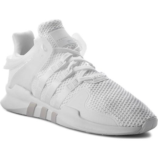 wyprzedaż w sprzedaży delikatne kolory całkowicie stylowy Buty sportowe damskie Adidas eqt support białe bez wzorów sznurowane z  tworzywa sztucznego