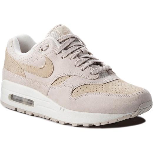 cd47c7c8 Buty sportowe damskie beżowe Nike air max sznurowane zamszowe