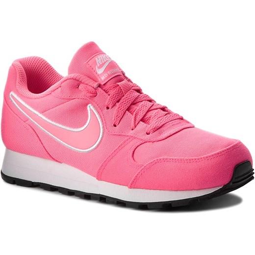 c9b441c15 Buty sportowe damskie Nike md runner bez wzorów płaskie sznurowane w ...