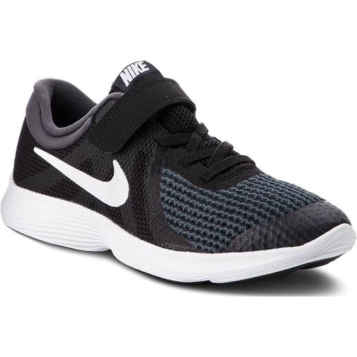 da3e9019 Niebieskie buty sportowe dziecięce Nike na rzepy w Domodi