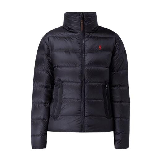 46fc136fe6d97 Kurtka damska Polo Ralph Lauren na zimę granatowa krótka z haftem w Domodi