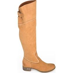 51c8a83060fe Kozaki za kolano zapato.com.pl na obcasie