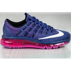 b389125075e74 Buty sportowe damskie Nike air max gładkie jesienne płaskie sznurowane