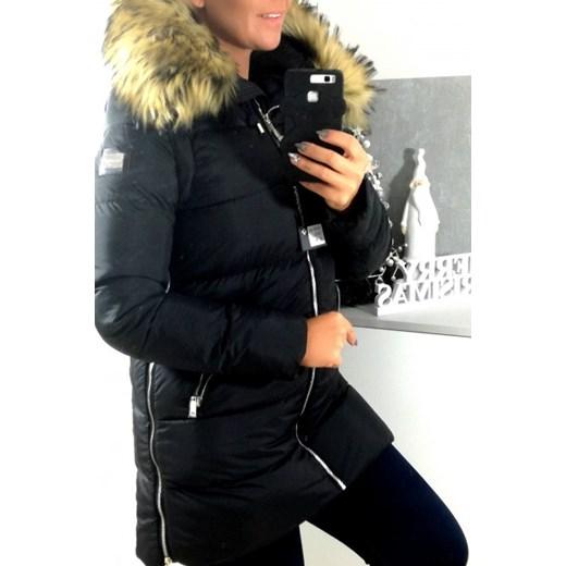 miss fofo czarna kurtka