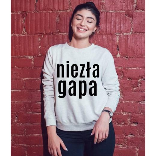 dobra jakość Bluza szary Time For Fashion Odzież Damska GD