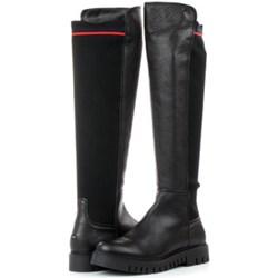 279ecda80e754 Kozaki damskie Tommy Hilfiger - Office Shoes Polska