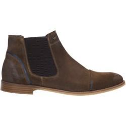 bd662511 Brązowe buty zimowe męskie Wojas bez zapięcia skórzane jesienne