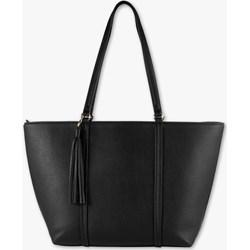 a6d76cf1ccb14 Torby shopper bag czarne