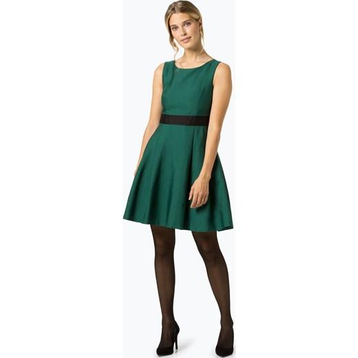 757f673ffd Sukienka Apart wiosenna zielona z okrągłym dekoltem bez rękawów w Domodi