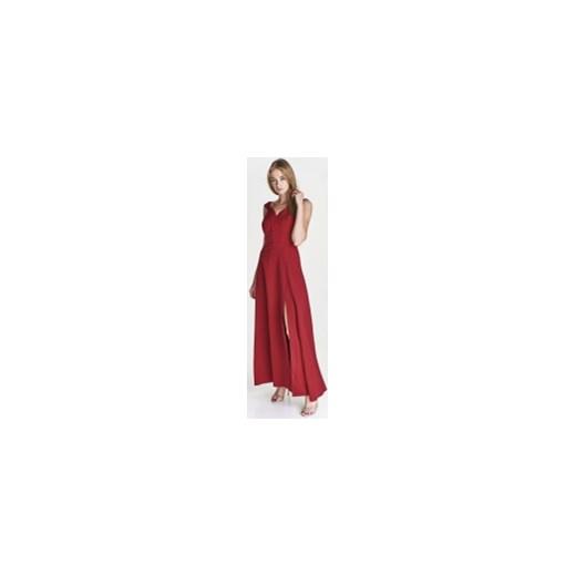 4cd0c1a1f0 Sukienka Mally czerwona maxi  Sukienka Mally na sylwestra czerwona maxi z  dekoltem v ...