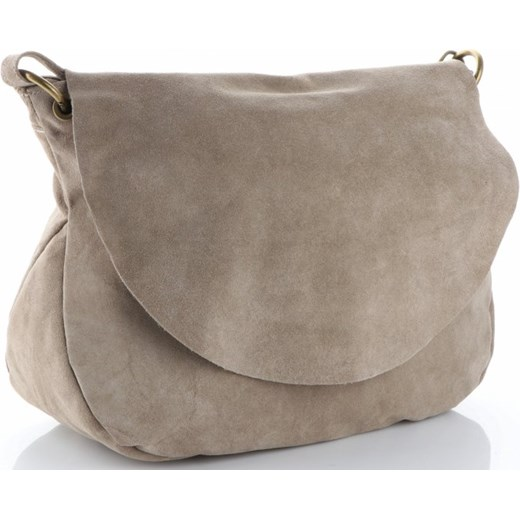 b8422ccb0523a ... Uniwersalna Włoska Torebka Listonoszka Skórzana Ciemno Beżowa (kolory) Genuine  Leather PaniTorbalska ...