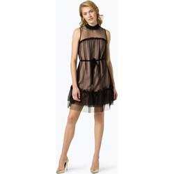 896b555142 Sukienka Apart brązowa elegancka bez wzorów