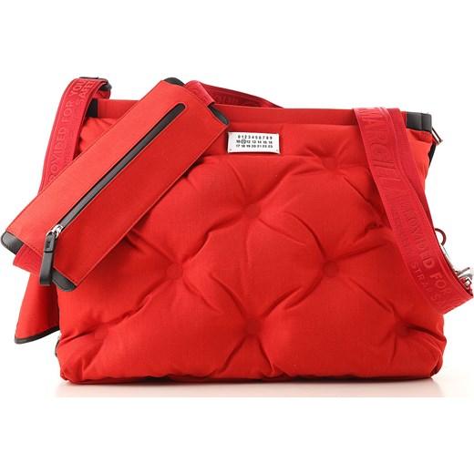 Skórzana torebka w kolorze czerwonym Jesień Zima 201819