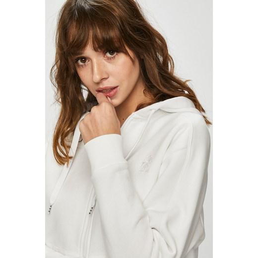 damska biała bluza reebok