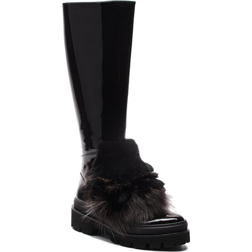 0bb2356bb0f03 Kozaki damskie czarne Baldinini na zimę w Domodi
