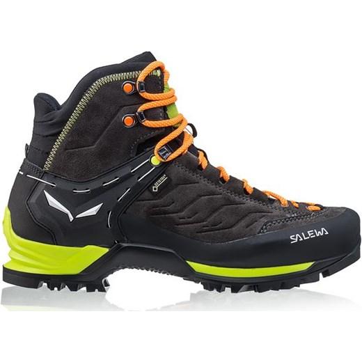 7c1fc5745648e Salewa buty trekkingowe męskie sznurowane jesienne sportowe; Buty  trekkingowe MTN Trainer MID GTX Salewa (brązowo-zielone) Salewa 45 SPORT-