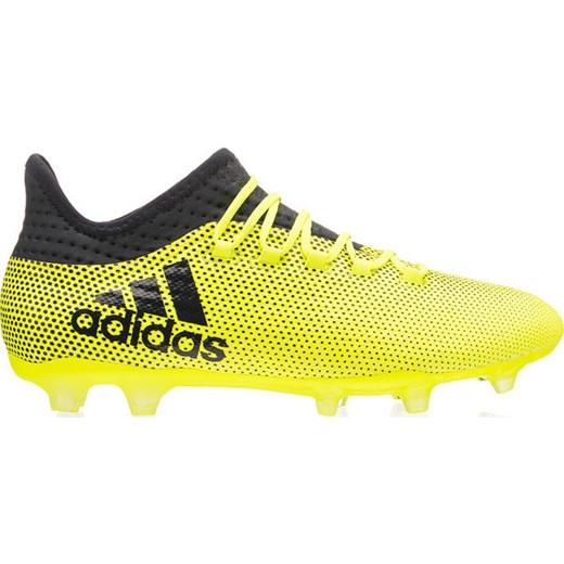 8221bd2e Buty piłkarskie korki X 17.2 Techfit FG Adidas (neonowo żołte) okazja  SPORT-SHOP.pl w Domodi