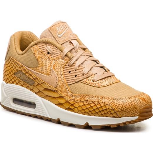 d48f5273 Brązowe buty sportowe męskie Nike air max 91 wiązane ze skóry w Domodi
