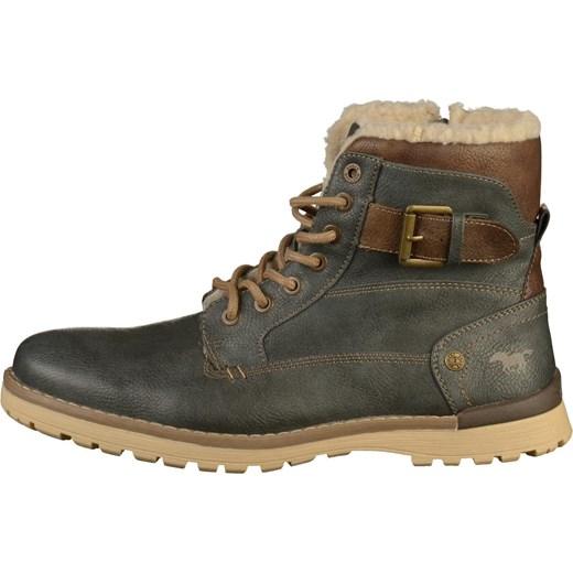 ebbe7288 ... Mustang buty zimowe męskie skórzane na jesień casualowe ...