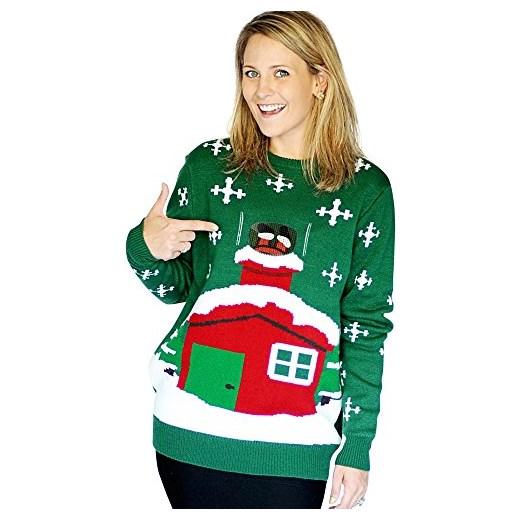 7eafdc48a77957 Sweter damski Morphsuits w świąteczne wzory w Domodi