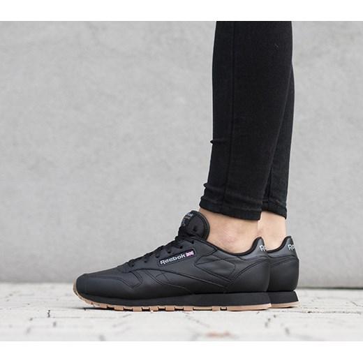 duża obniżka szczegóły najlepiej sprzedający się Buty damskie sneakersy Reebok Classic Leather 49804 bialy sneakerstudio.pl
