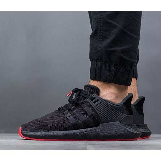 2e990a551ce89 Buty męskie sneakersy adidas Originals Equipment Eqt Support 93 17  Primeknit CQ2394 - CZARNY sneakerstudio