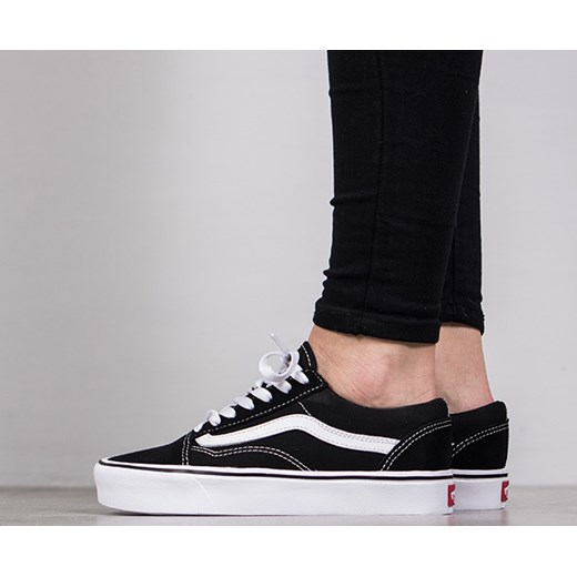 6b2734497378c Buty damskie sneakersy Vans Old Skool Lite 2Z5WIJU czarny sneakerstudio.pl