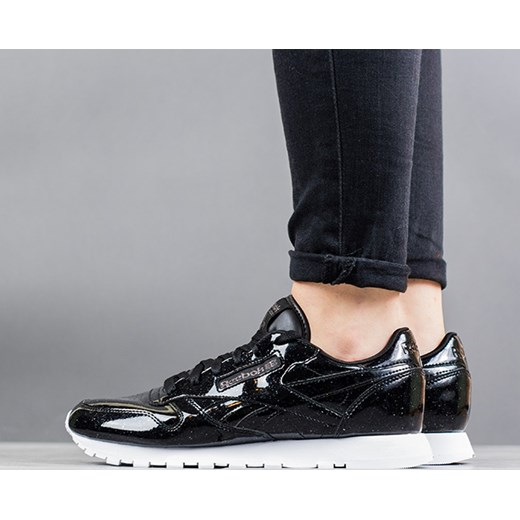 Buty damskie sneakersy Reebok Classic Leather Patent Pearl