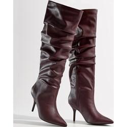 e56591ed8ae3 Czerwone kozaki damskie zapato