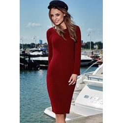 8a2171a3f2 Sukienka Lemoniade elegancka z długim rękawem dopasowana na co dzień