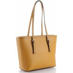 d8a69d1332776 Brązowe torby shopper bag genuine leather, wiosna 2019 w Domodi