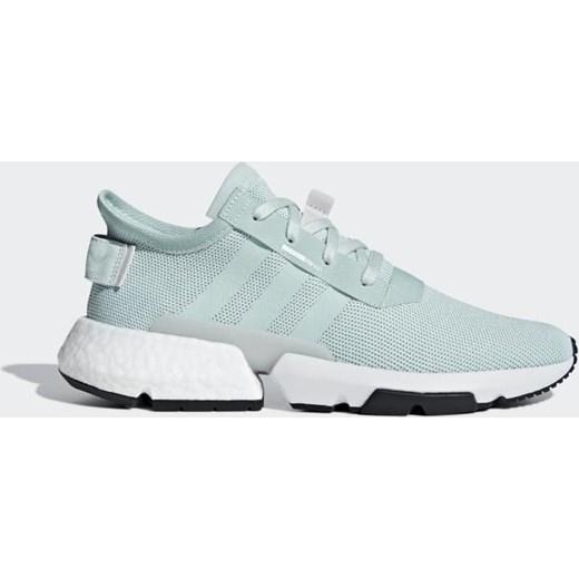 Buty sportowe damskie Adidas Originals bez wzorÓw płaskie