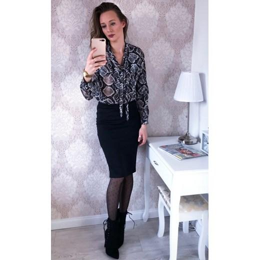 01e88c8951 Spódnica ołówkowa czarna -30% promocyjna cena Modova w Domodi