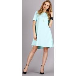 1f0e2598bd Miętowe sukienki pastelowe zalando