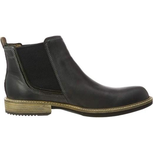 Buty zimowe męskie Ecco z tworzywa sztucznego bez zapięcia